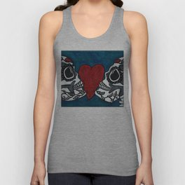 Amo y Besos (Love & Kisses) Unisex Tank Top