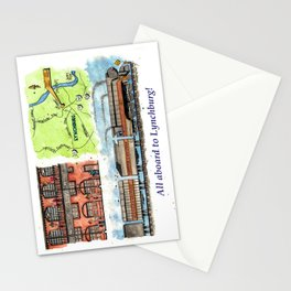 All Aboard to Lynchburg! Stationery Cards