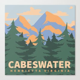 Cabeswater Canvas Print