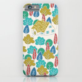 Happy Hermit iPhone Case