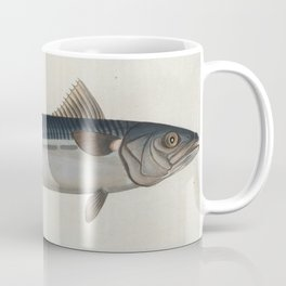 Vintage Illustration of an Atlantic Mackerel (1785) Coffee Mug