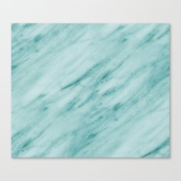 Audace Turchese green marble Canvas Print