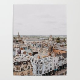 Oxford, England Poster