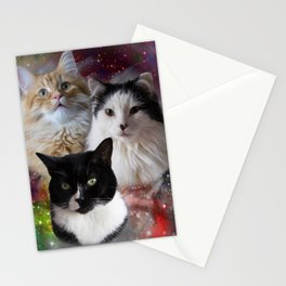 Space Fluffs Stationery Cards