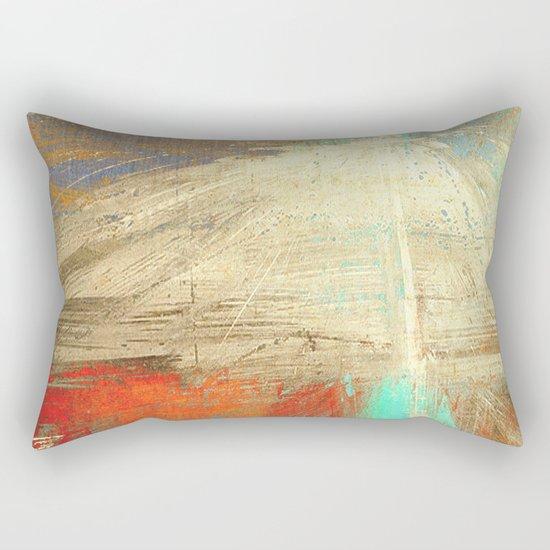 老人と山 (old man and the mountain) Rectangular Pillow