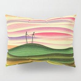 Romantic sky light lovers Pillow Sham