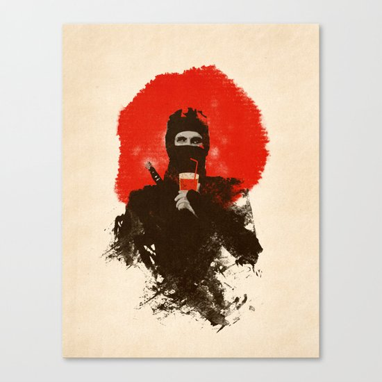American ninjas like Bloody Mary Canvas Print
