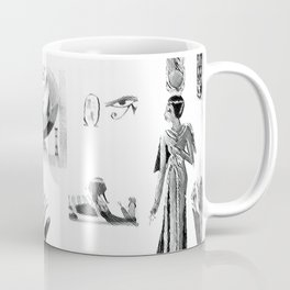 Black and White Collage Coffee Mug