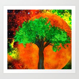 THE FOREVER TREE Art Print