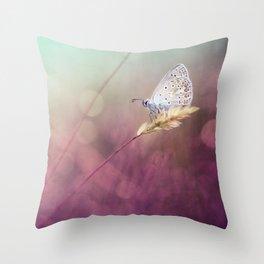 Purple heat... Throw Pillow