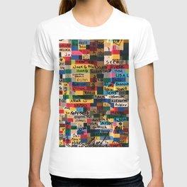 Graffiti on Legos T-shirt