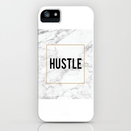HUSTLE MARBLE DECOR, Hustle Boss,Hustle Art,Hustle Print,Marble Print,Modern Art,Fashion Print,Motiv iPhone Case