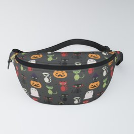 Halloween Cats Fanny Pack