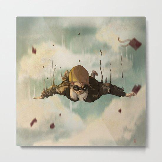 -Plane  crasH- Metal Print