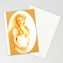 Classical Beauty is an eternal true Stationery Cards
