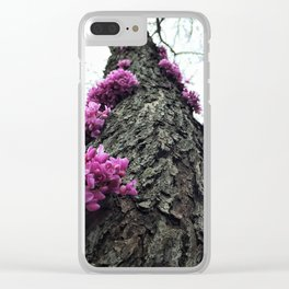 Flowers on Tree Clear iPhone Case