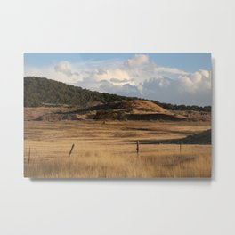 The Golden Hour in Utah Metal Print