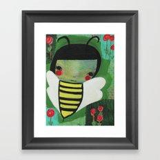 Bea Framed Art Print