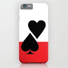 The Hustler Babe - White iPhone 6s Slim Case