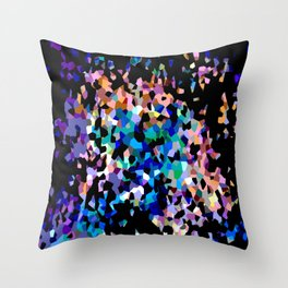 Crystallize 3 Throw Pillow