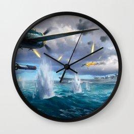 Naval Battle Wall Clock