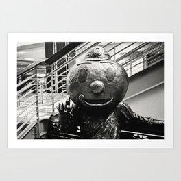 Buckeyes are #1  Art Print
