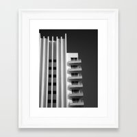 art deco Framed Art Prints featuring Deco by SalAnthony