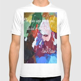Paint like Picasso. T-shirt