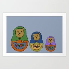 Piptroyshkas Art Print