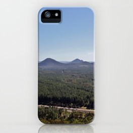 Wild Horse Mountain iPhone Case