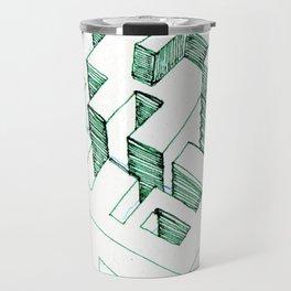 Clay Labyrinth (sketch) Travel Mug