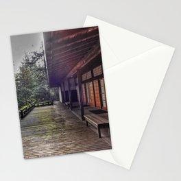 Japanese Garden Pavilion Stationery Cards