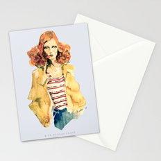 Portrait of Karen Elson Stationery Cards