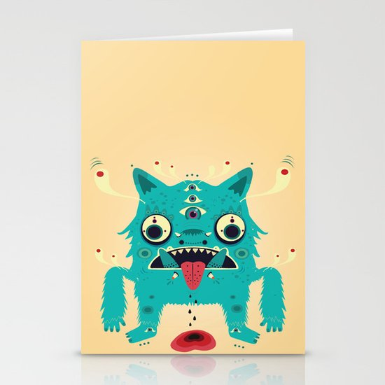 Creature n0#33 Stationery Cards