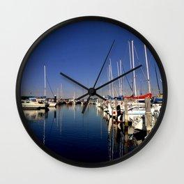 Moorings Wall Clock