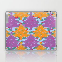 Christmas Holly Tree Laptop & iPad Skin