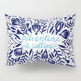Adventure is Calling – Porcelain Palette Pillow Sham