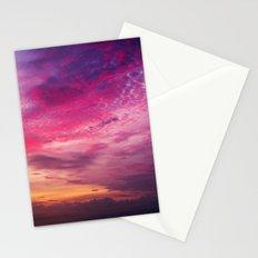 Red Sky Sunrise Stationery Cards