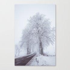 Heading north Canvas Print