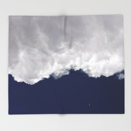 Rumble Blue Throw Blanket