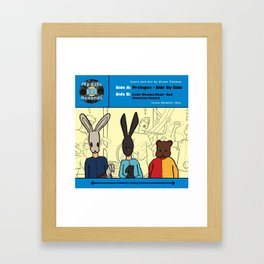My Life in Records #1 Comic Book Cover Framed Art Print