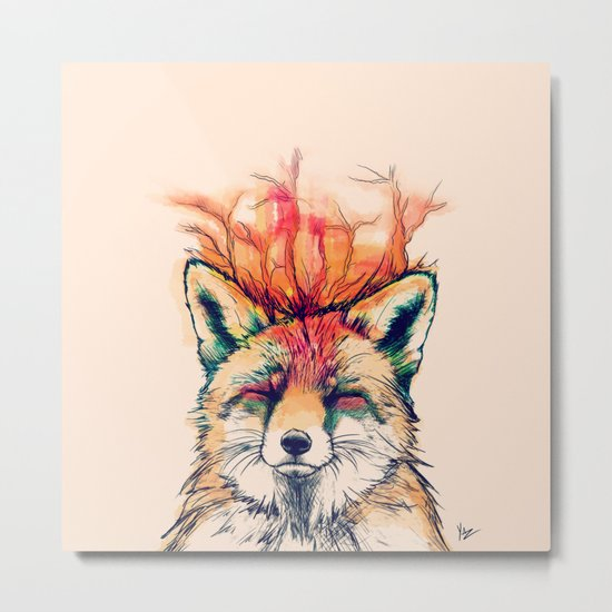 Fox Yeah! Metal Print