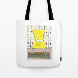 Yellow Chair Tote Bag