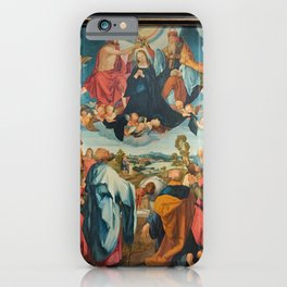 Albrecht Dürer - Heller Altar piece iPhone Case