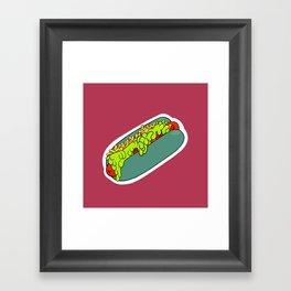 Slimey No. 2 Framed Art Print