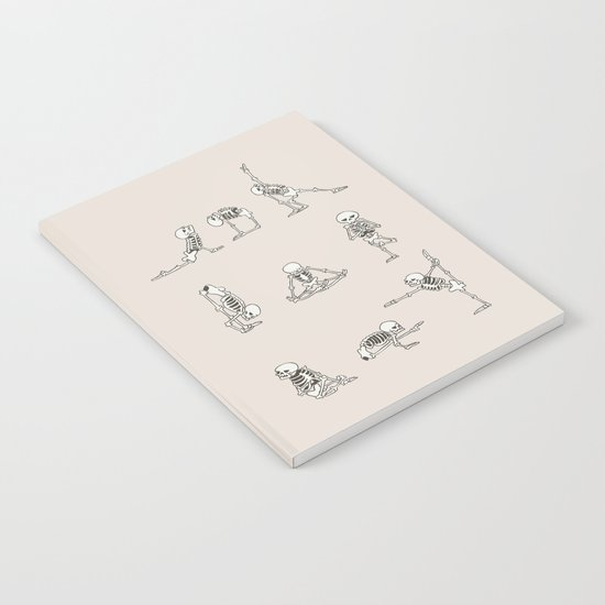 Skeleton Yoga Notebook