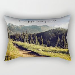 find joy in the journey Rectangular Pillow