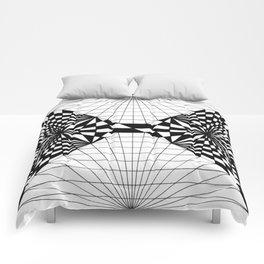 Optical pen pattern Comforters