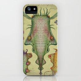 Cephalopodoptera Tab. III iPhone Case