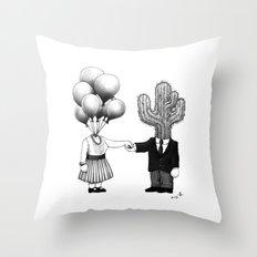Soul Mates (2013) Throw Pillow